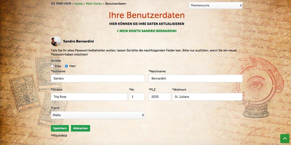 Adress-Verwaltung